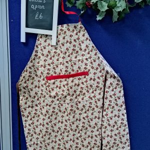 Child's Christmas apron